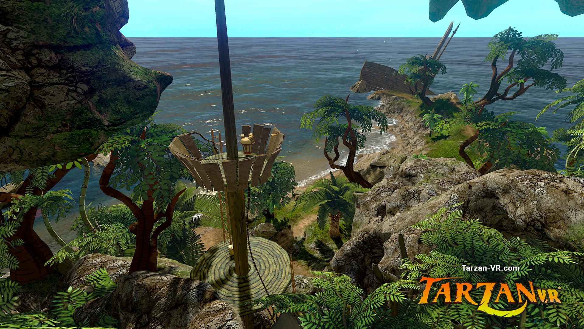 Tarzan VR  Issue #1 - THE GREAT APE screenshot