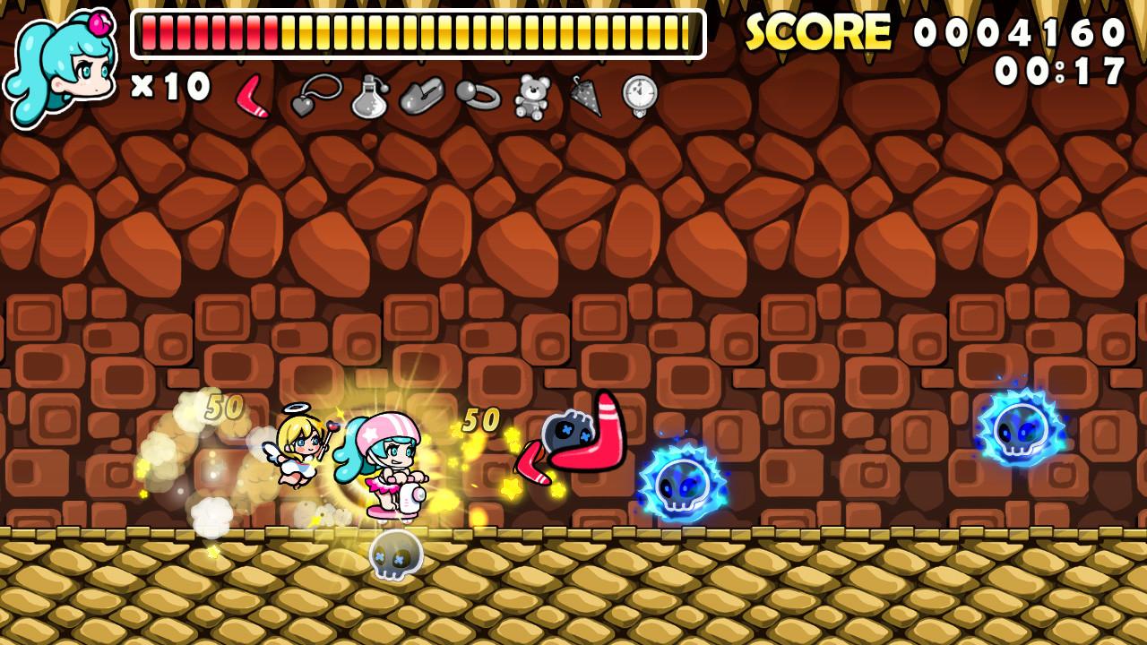 Wonder Boy Returns Remix screenshot