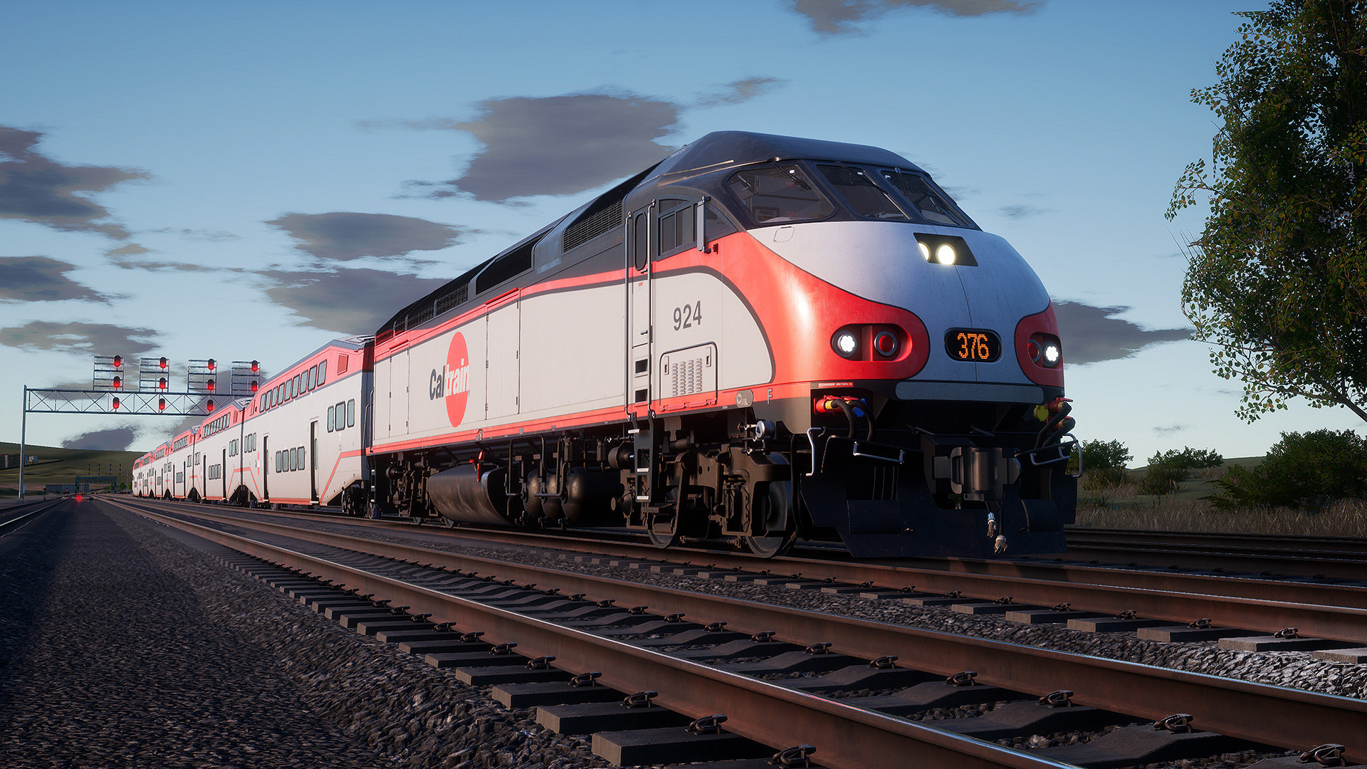 Train Sim World: Caltrain MP36PH-3C 'Baby Bullet' Loco Add-On screenshot