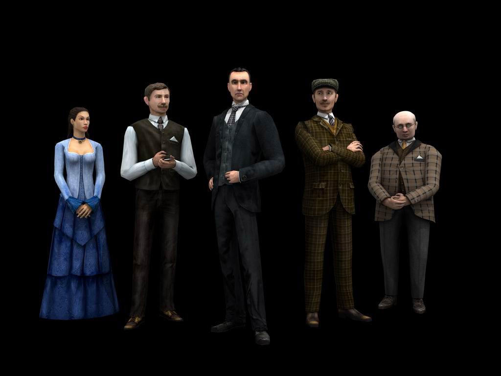 Sherlock Holmes: The Silver Earring screenshot