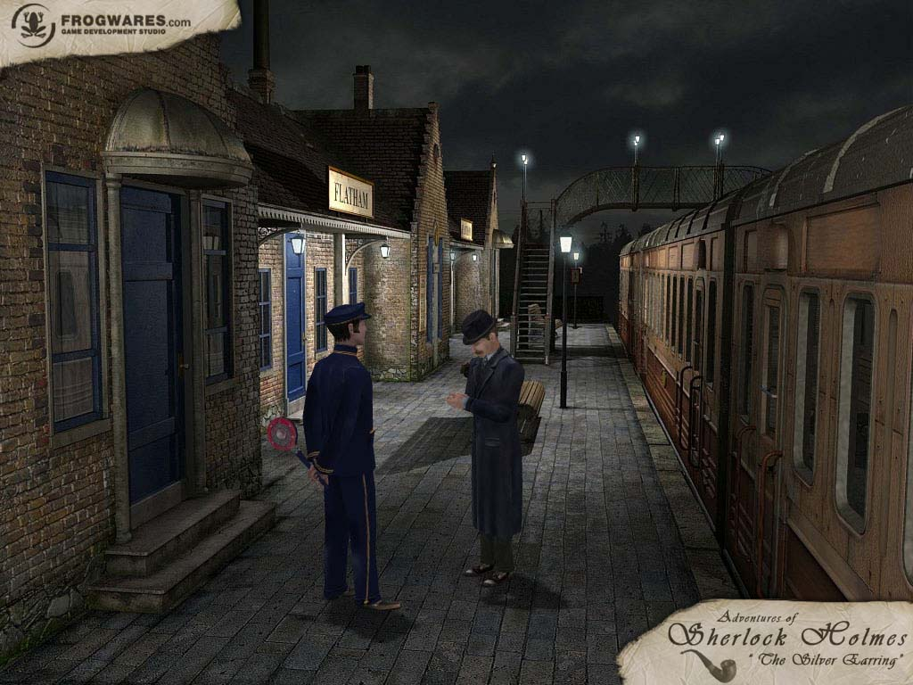 Sherlock Holmes: The Silver Earring screenshot