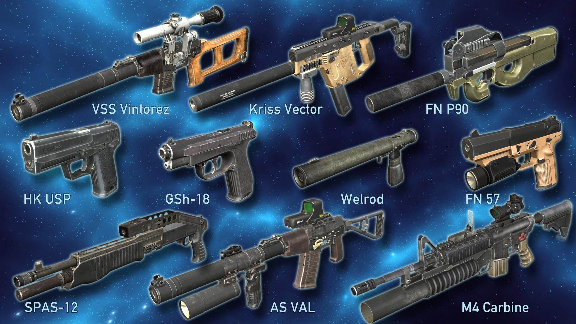 World of Guns VR: Spec Ops Pack screenshot