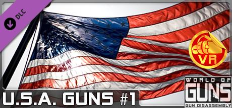 World of Guns VR: U.S.A. Guns Pack #1