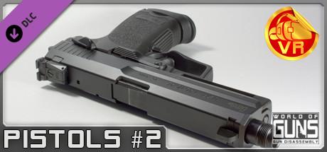 World of Guns VR: Pistols Pack #2