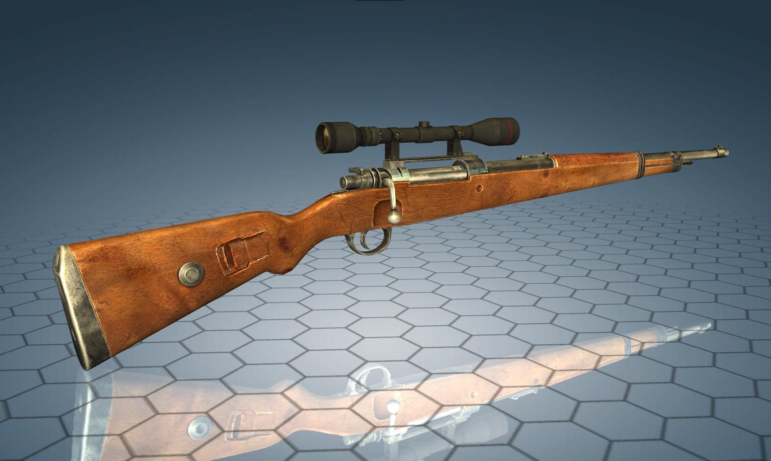 World of Guns VR: Bolt Action Rifles Pack #1 screenshot