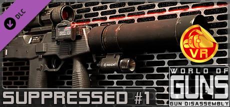 World of Guns VR: Suppressed Guns Pack #1