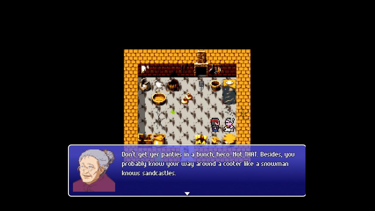 Victim Cache the RPG - An 80s JRPG Parody screenshot