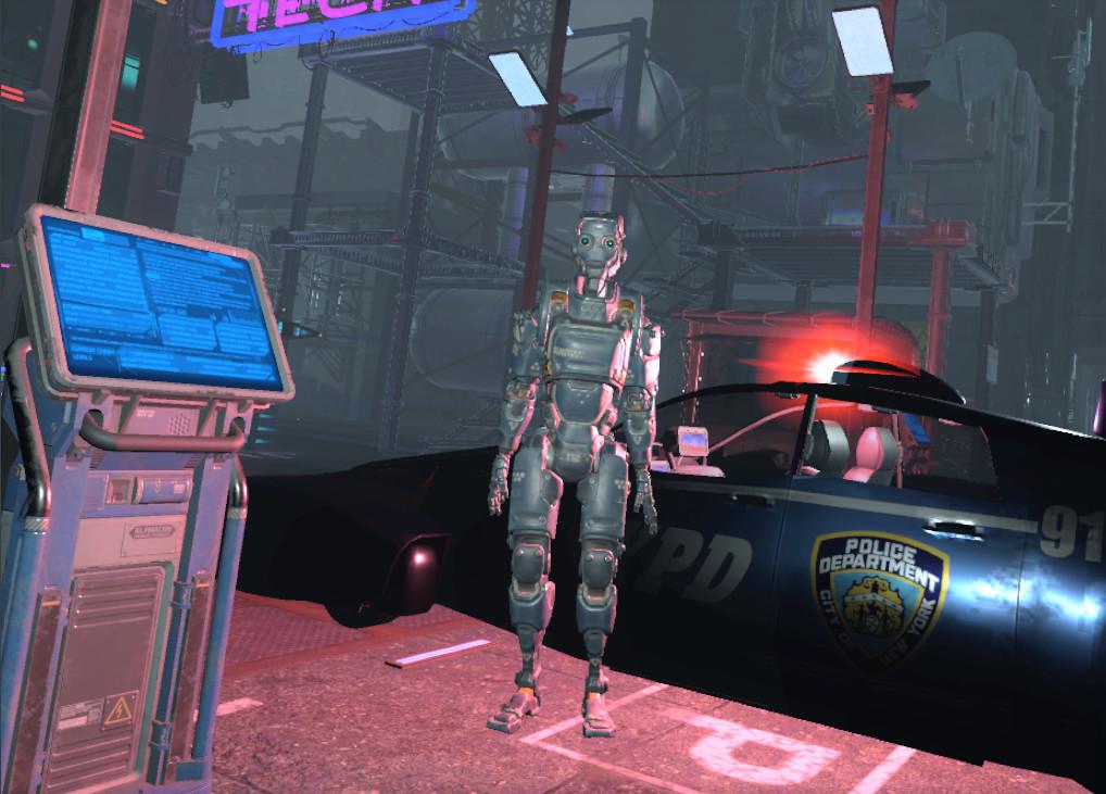 Electric Sheep: A Cyberpunk Dystopia screenshot