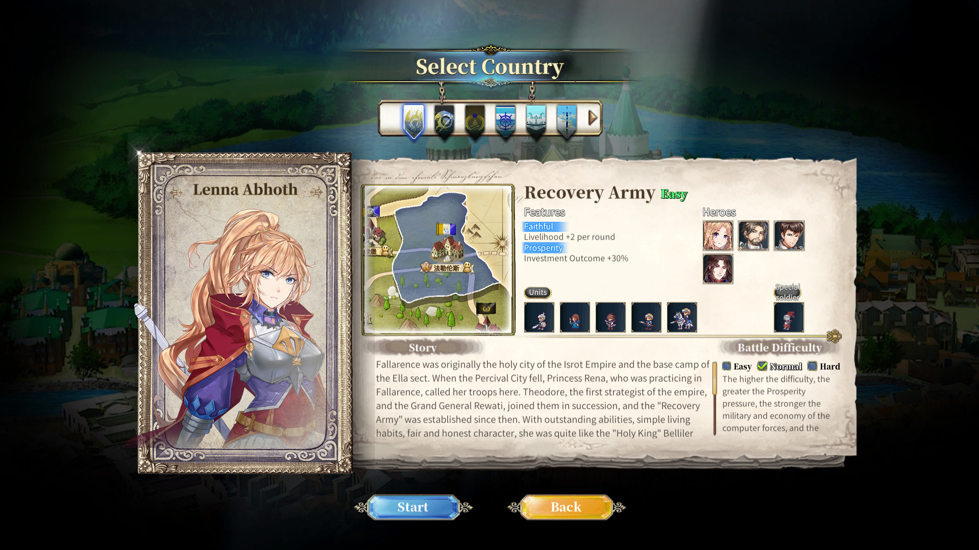 The Heroic Legend of Eagarlnia screenshot