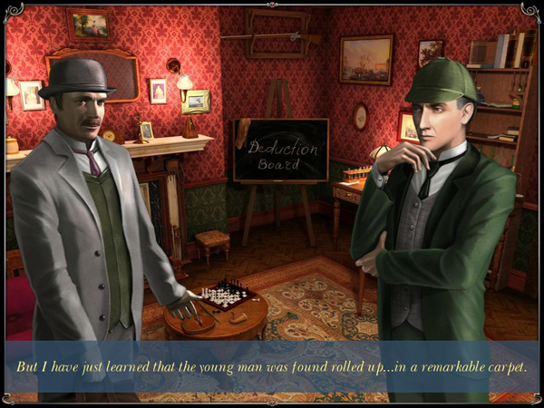 Sherlock Holmes: The Mystery of the Persian Carpet screenshot