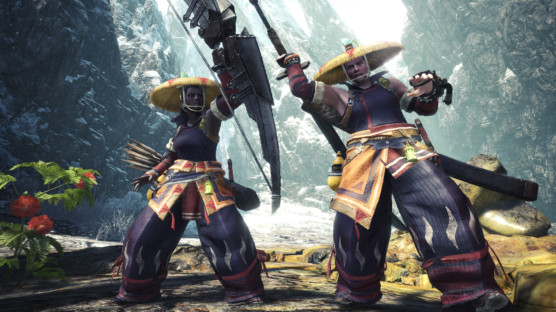Monster Hunter World: Iceborne - Yukumo Layered Armor Set screenshot
