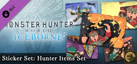 Monster Hunter: World - Sticker Set: Hunter Items Set