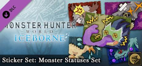 Monster Hunter: World - Sticker Set: Monster Statuses Set