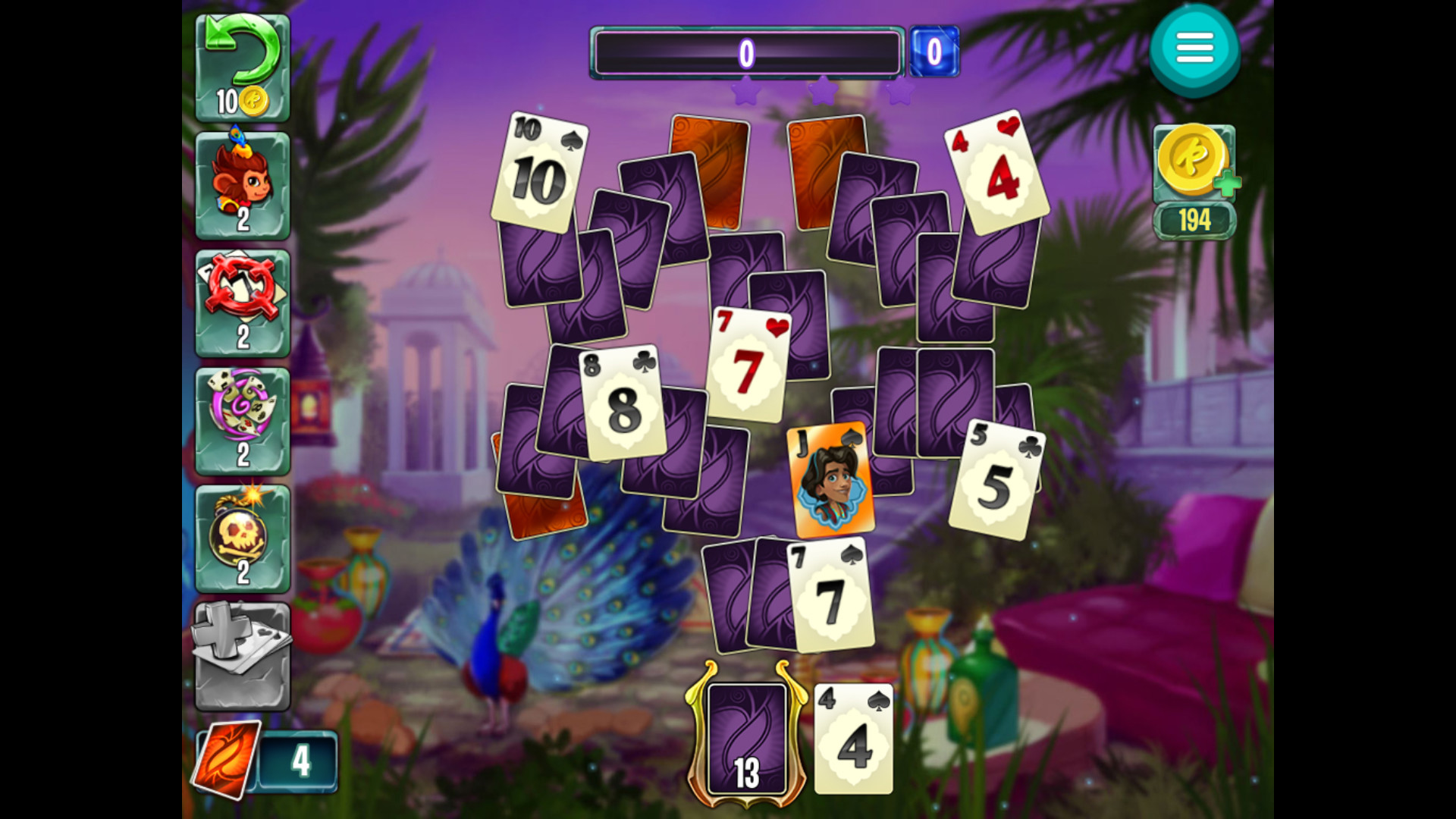 Indian Legends Solitaire screenshot