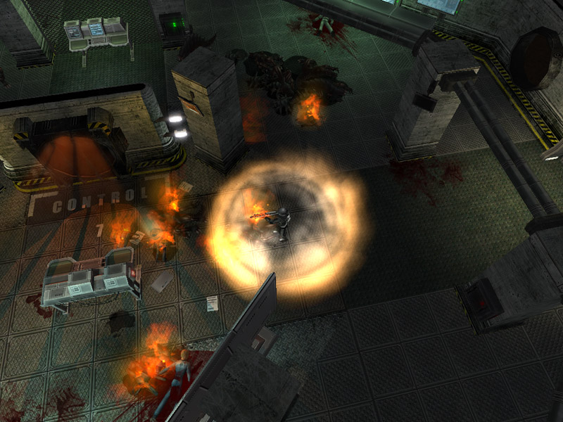 Shadowgrounds Survivor screenshot