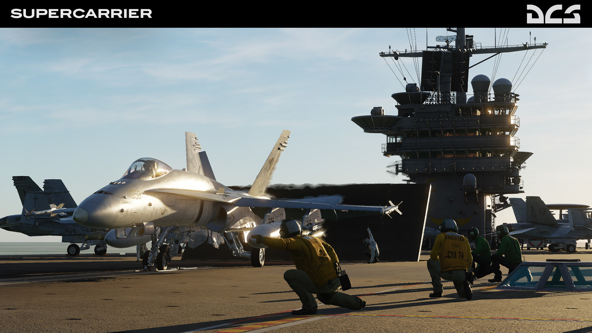 DCS: Supercarrier screenshot