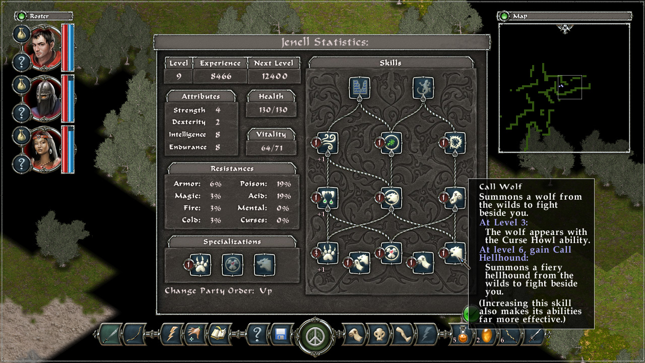 Avadon: The Black Fortress screenshot