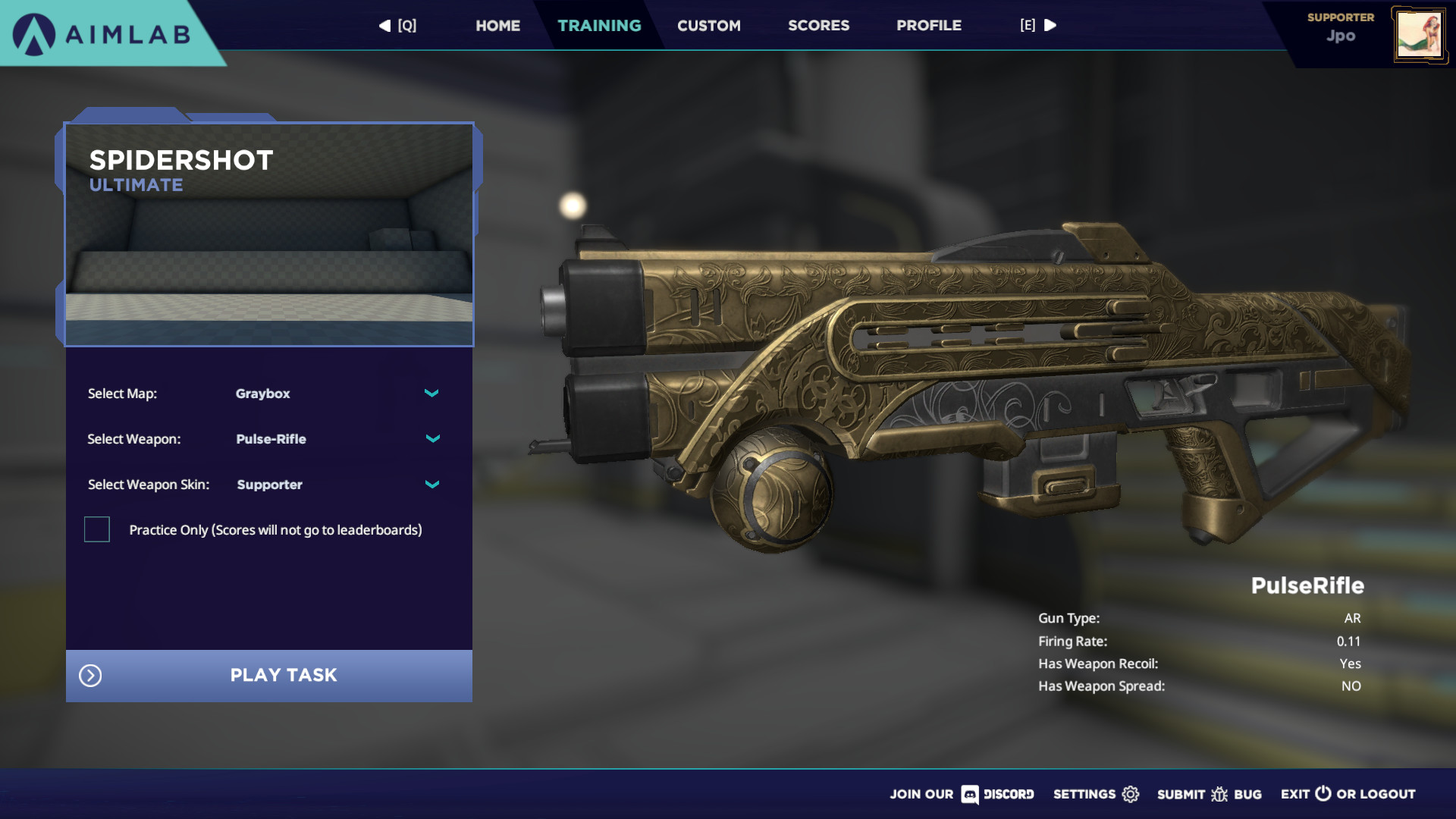 Aimlab -Elite Supporter Pack screenshot