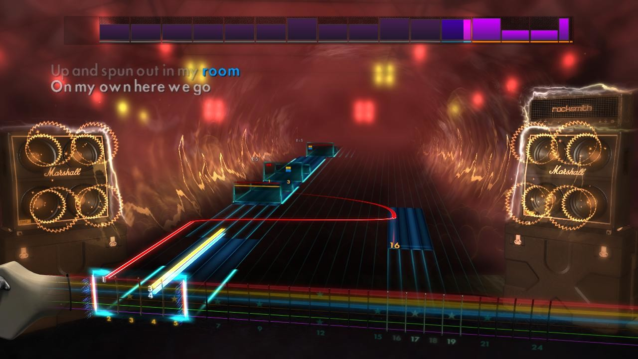 "Rocksmith 2014 Edition – Remastered – Green Day - ""Brain Stew"" screenshot"