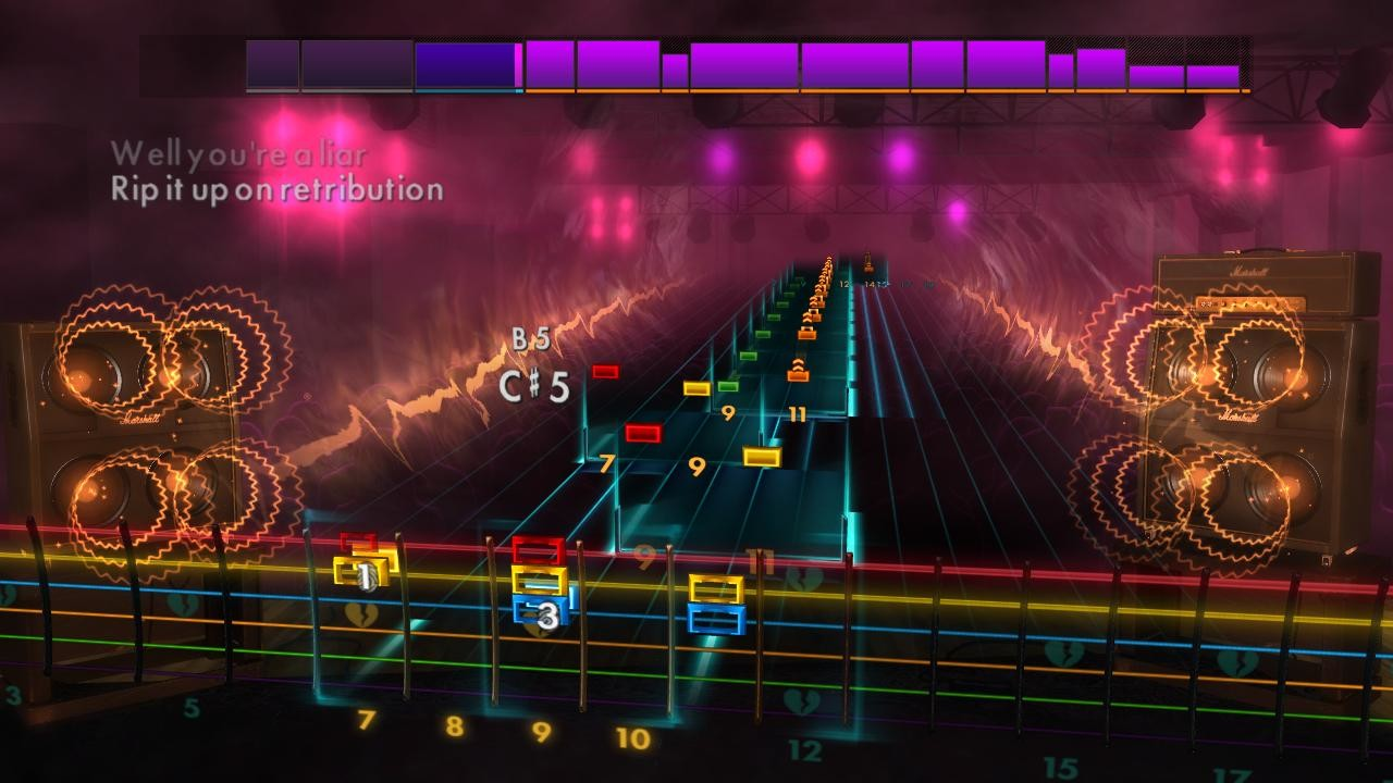 "Rocksmith 2014 Edition – Remastered – Green Day - ""Fire, Ready, Aim"" screenshot"