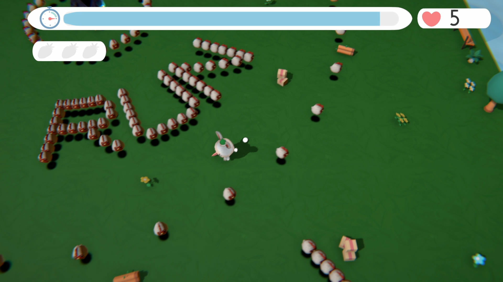 Run! Bunny 绿绿小先生 screenshot