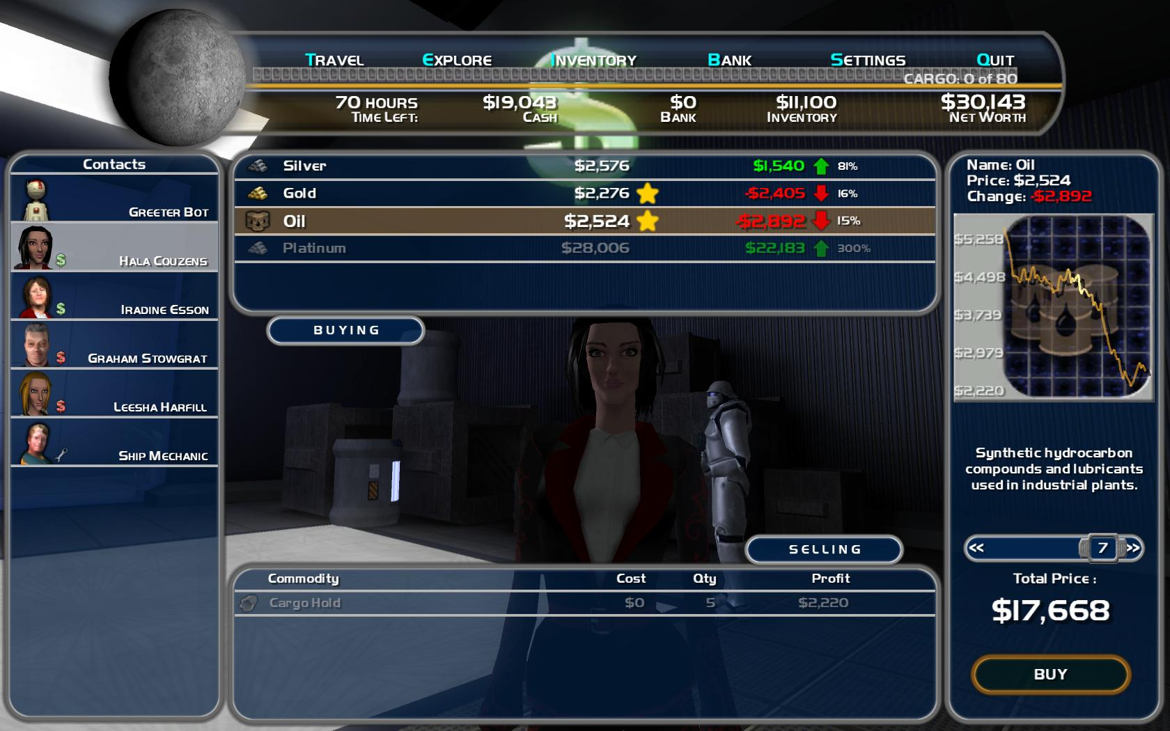 Space Trader: Merchant Marine screenshot