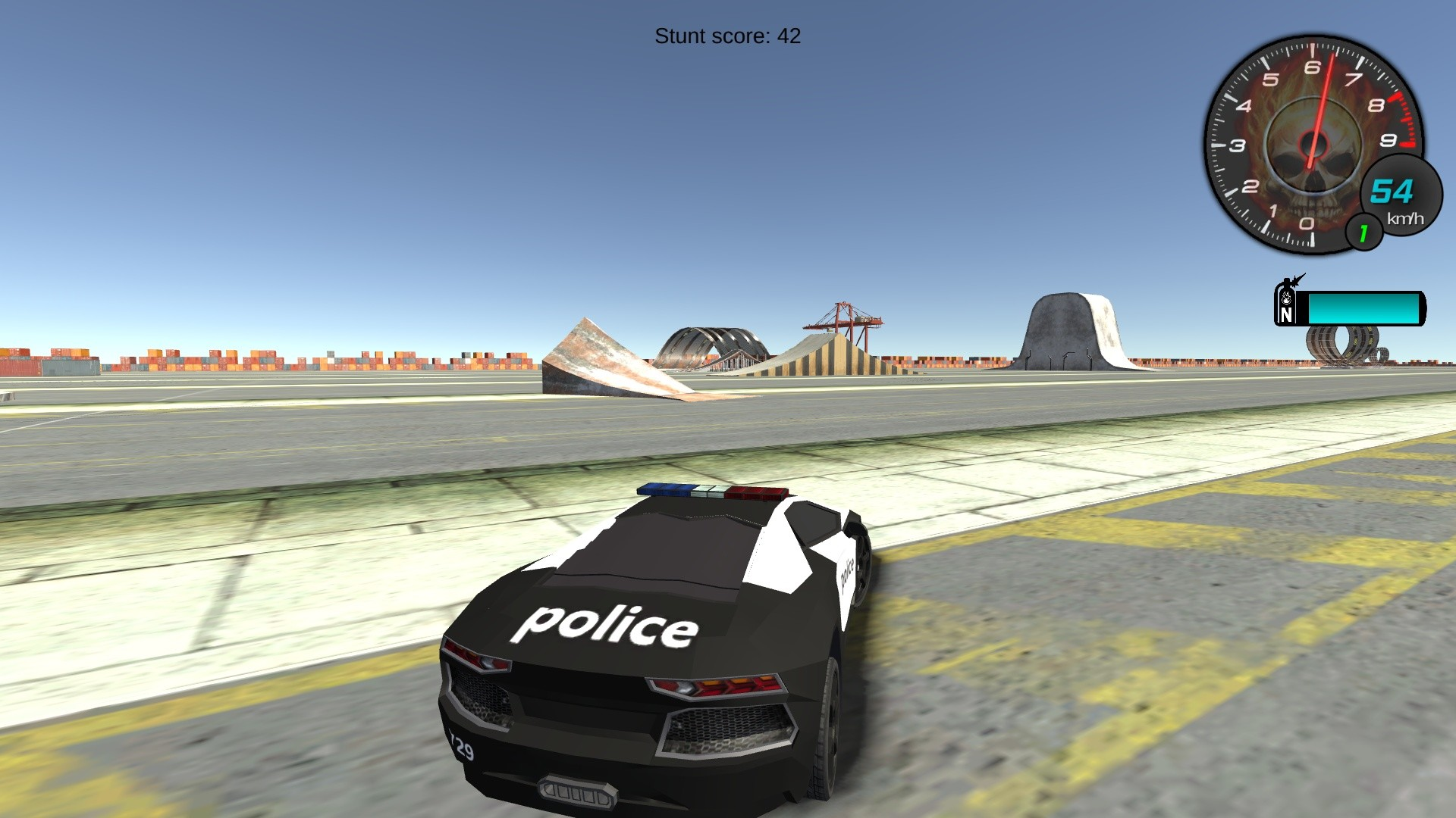Police Stunt Cars screenshot