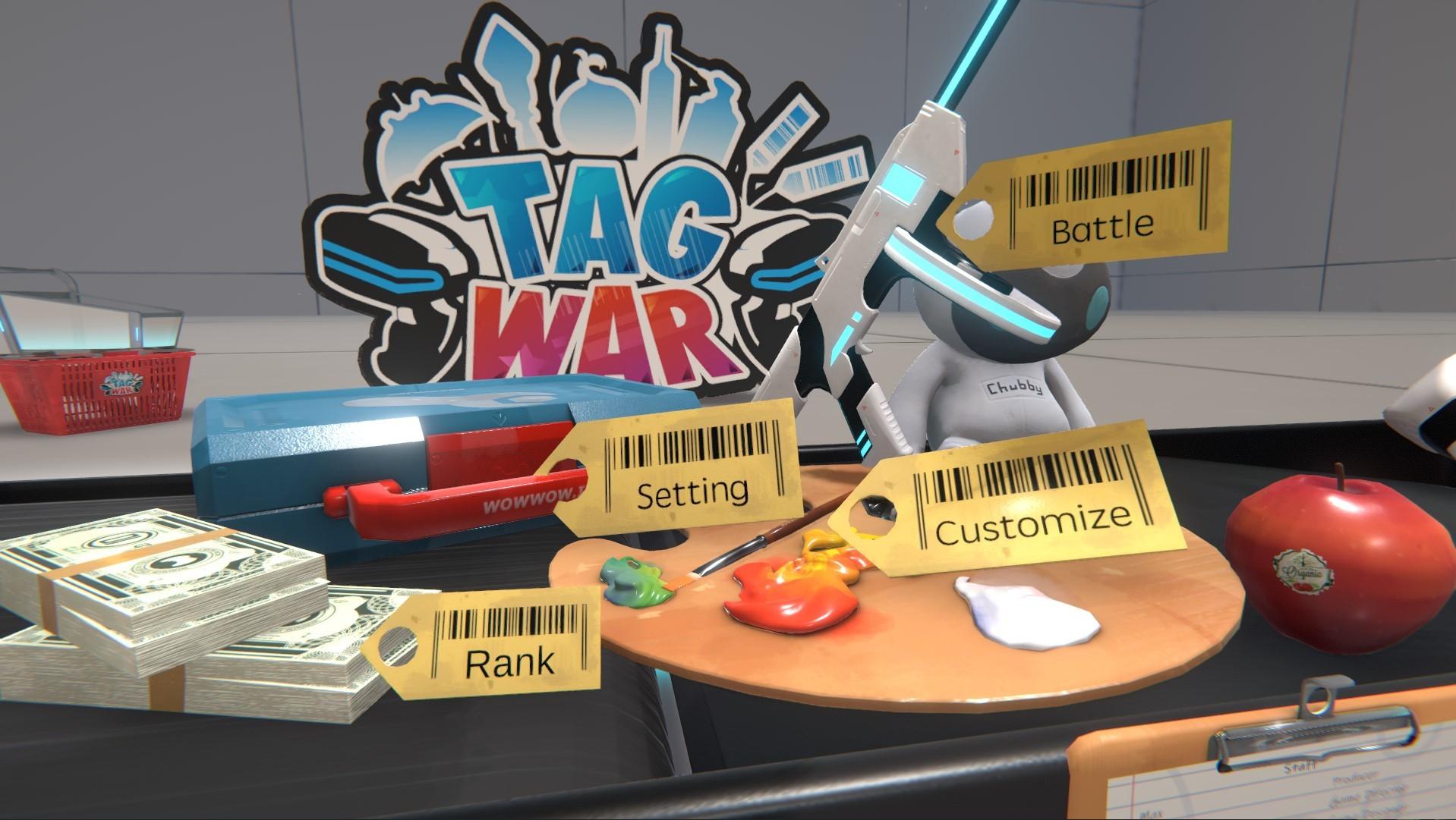 TAG WAR screenshot