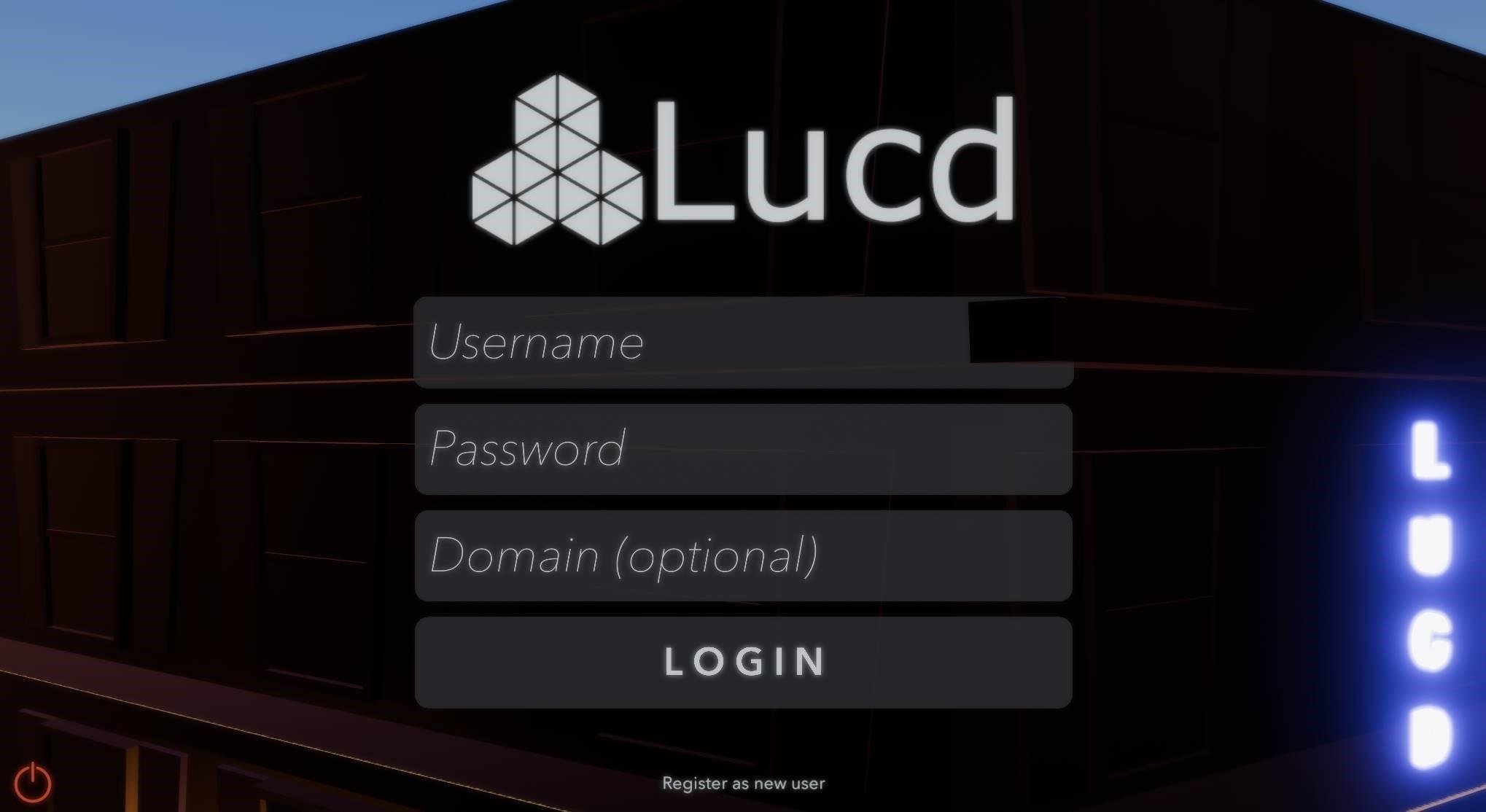 Lucd screenshot