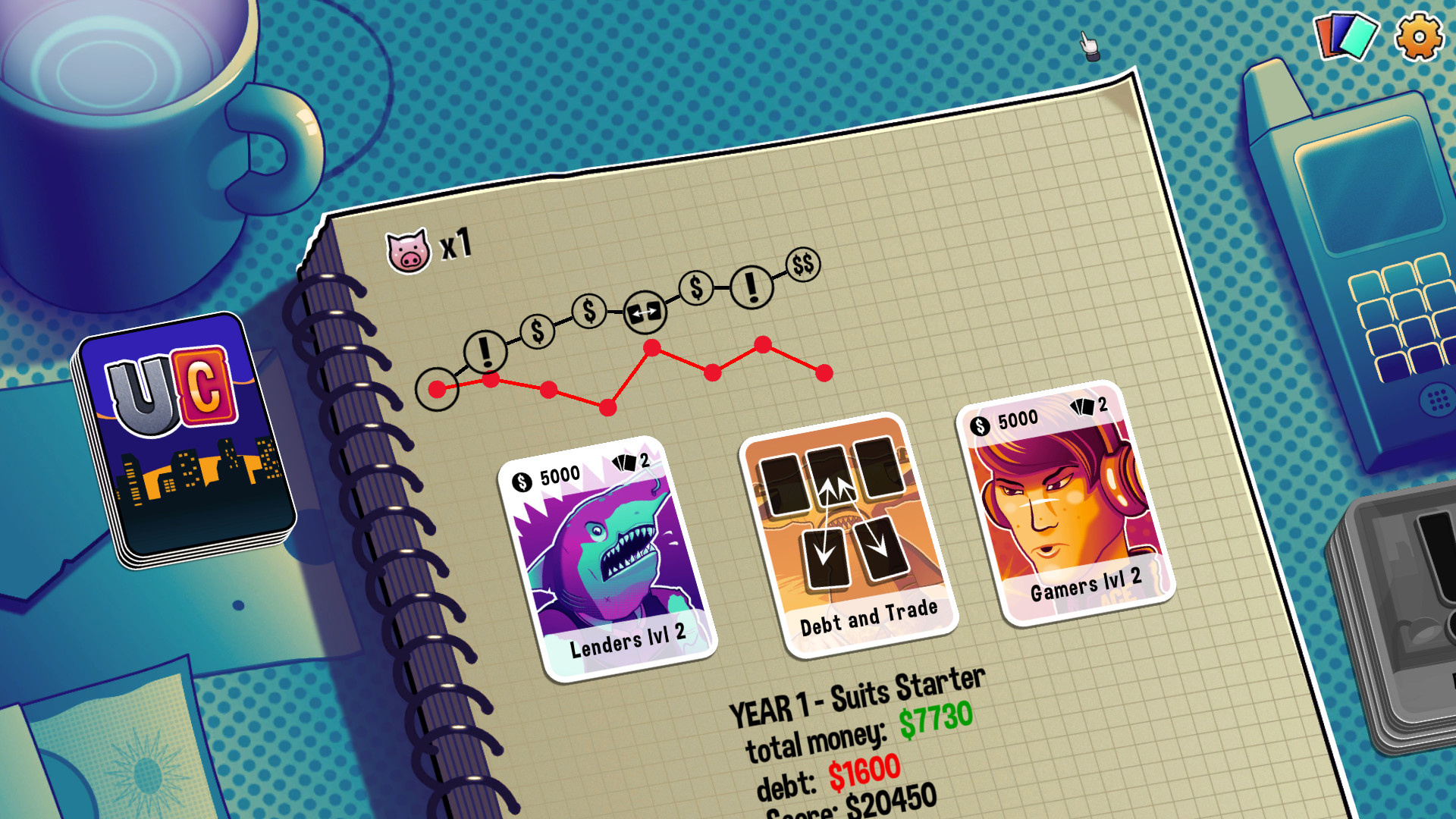 Urban Cards screenshot