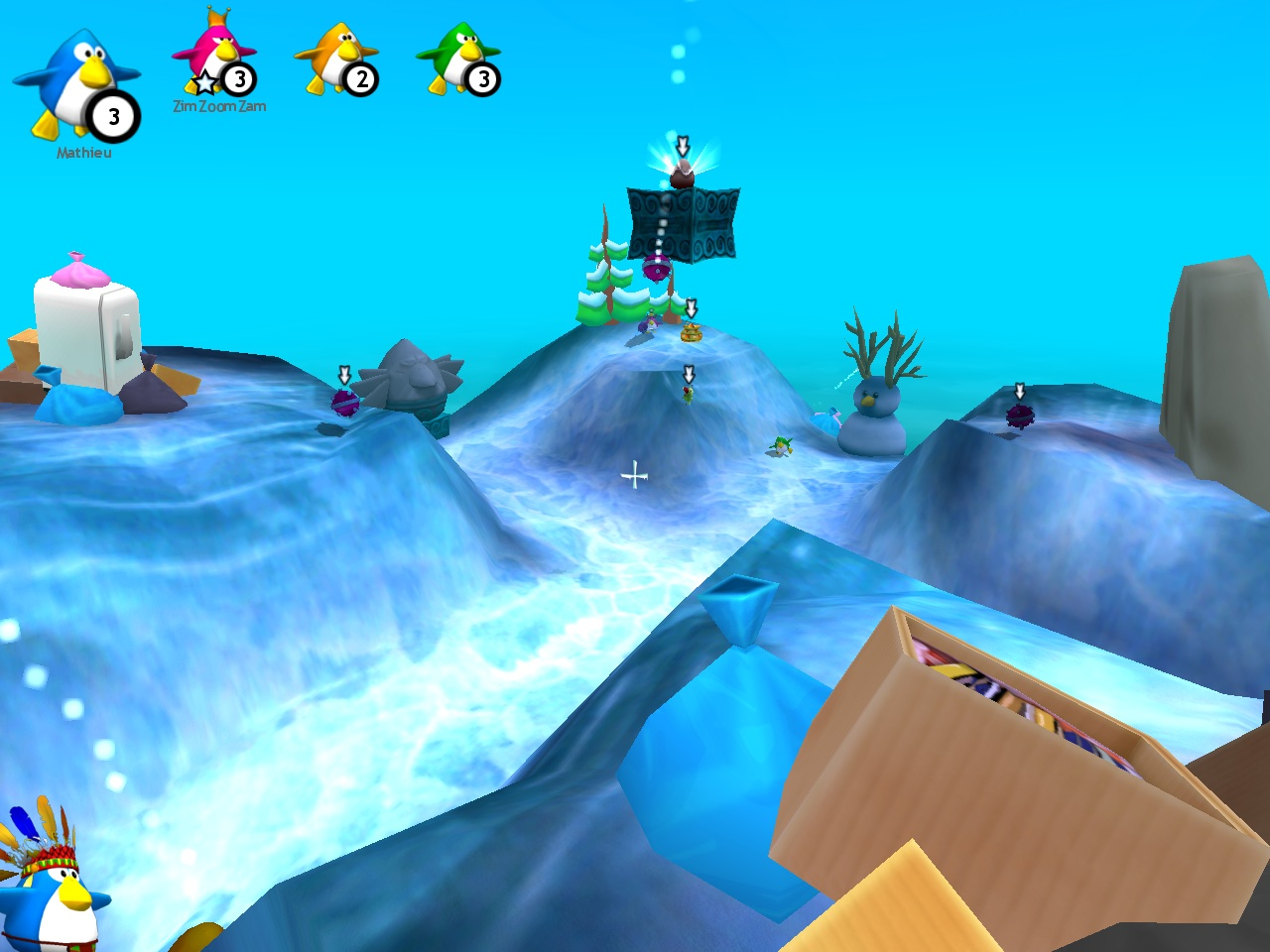 Penguins Arena: Sedna's World screenshot