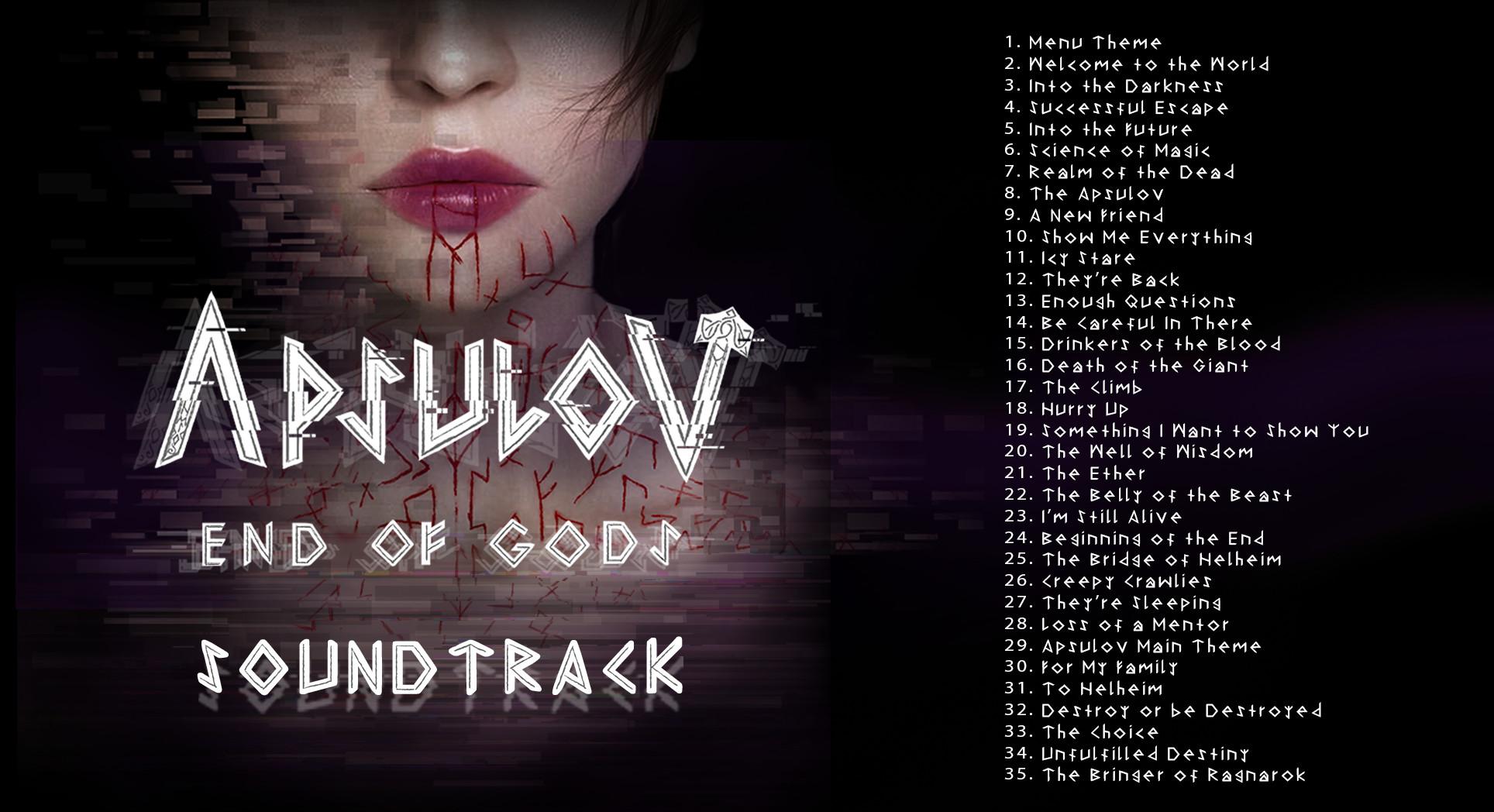 Apsulov: End of Gods - Soundtrack+Art book screenshot
