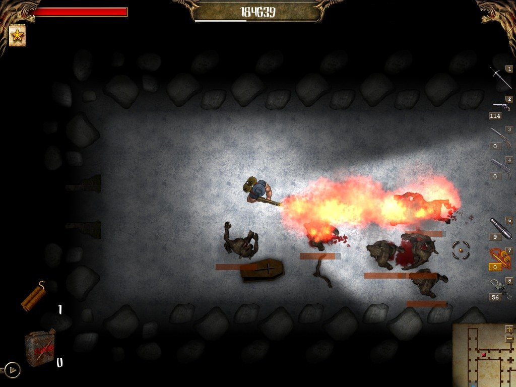 Larva Mortus screenshot