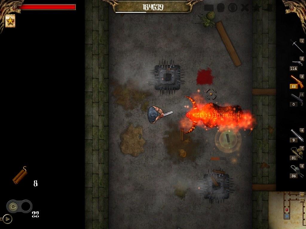 Larva Mortus screenshot