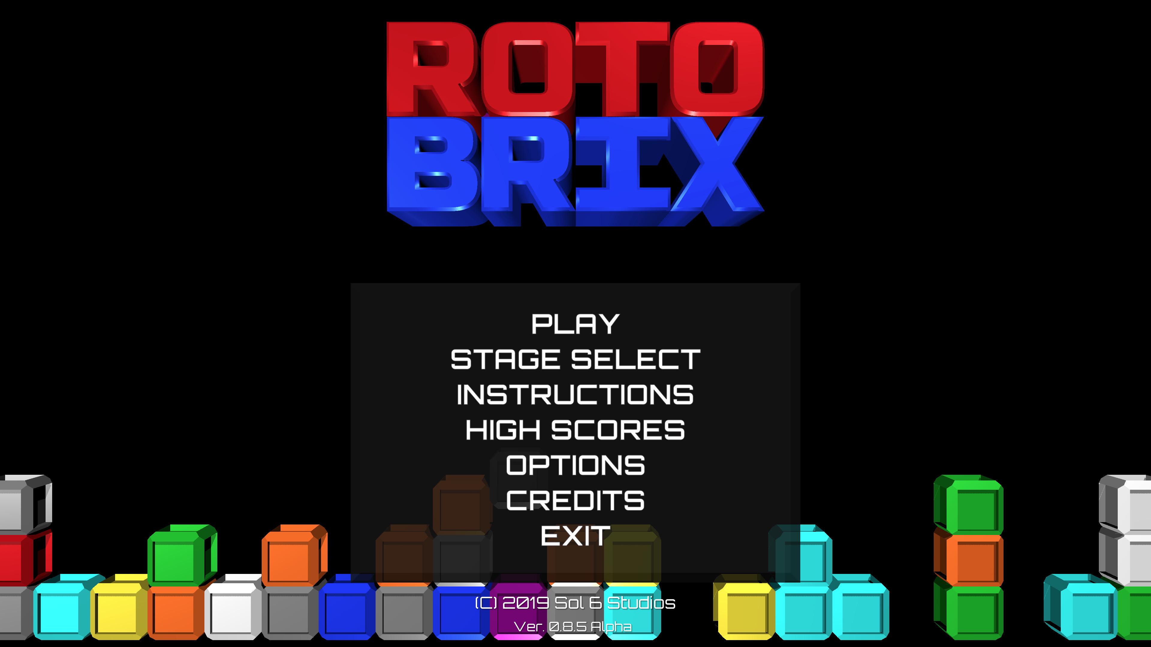 RotoBrix screenshot