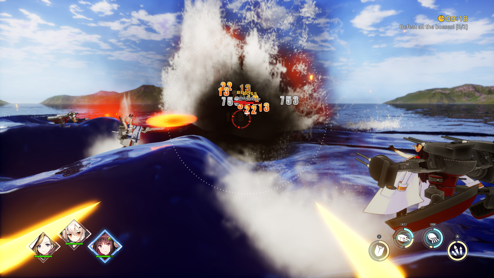 Azur Lane Crosswave screenshot