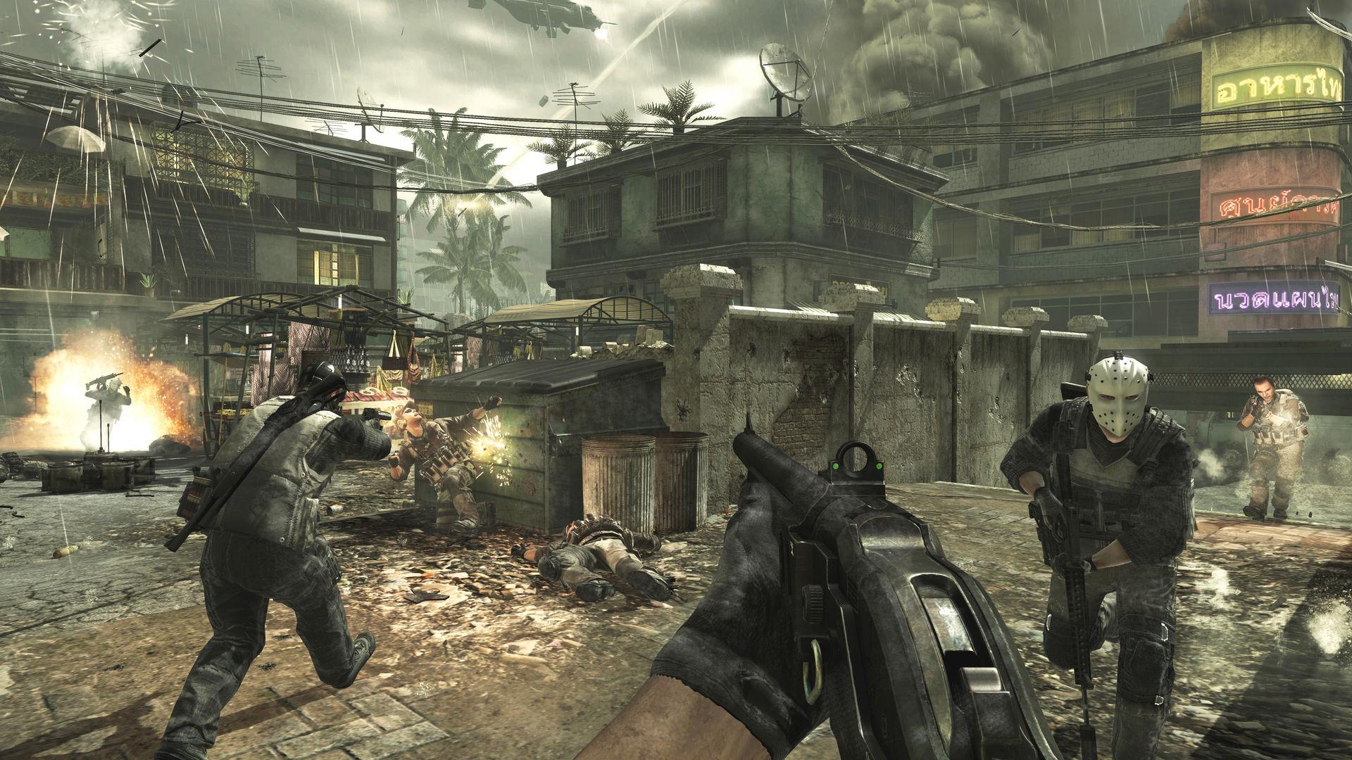 Скачать игры через торрент Cod Advanced Warfare
