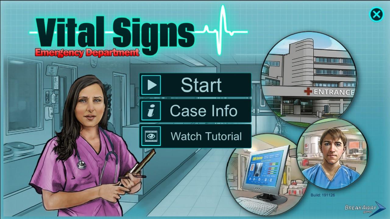 Vital Signs: ED - Injuries Package #1 screenshot