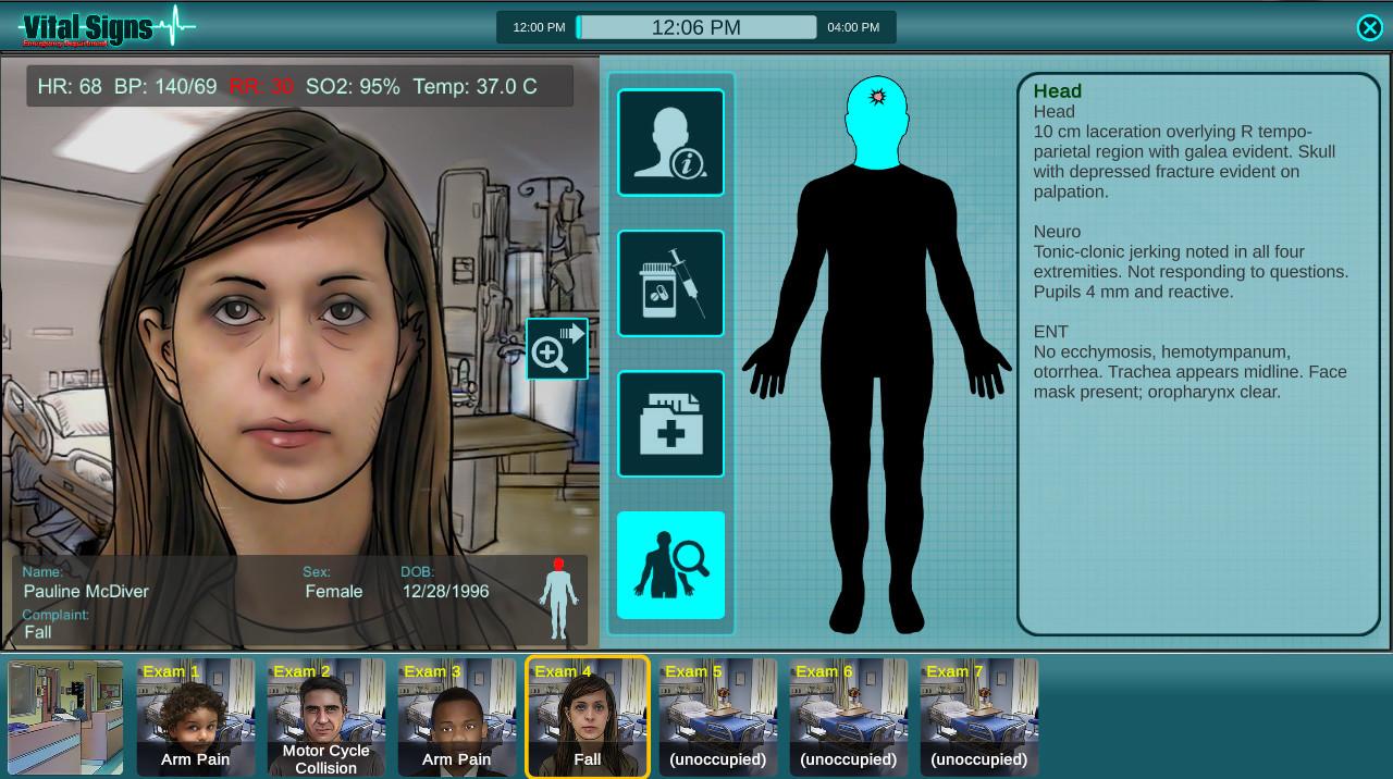 Vital Signs: ED - Injuries Package #2 screenshot