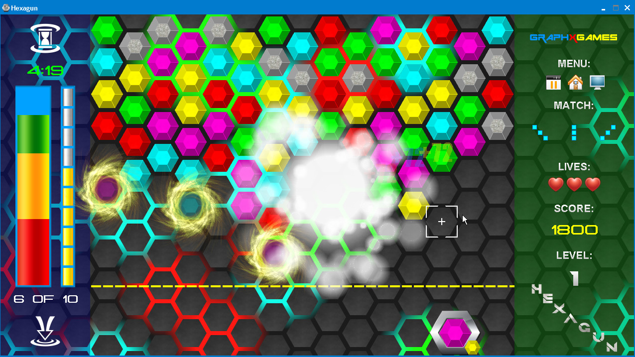 Hexagun screenshot