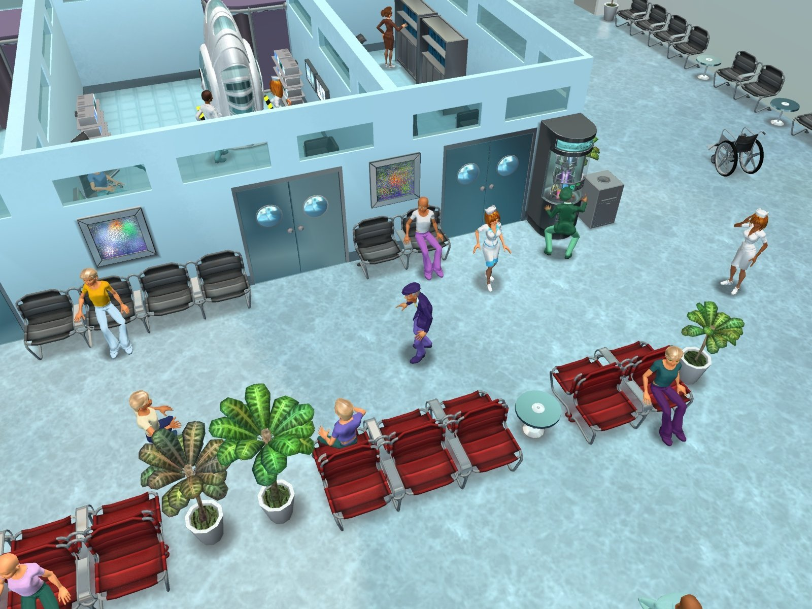 Hospital Tycoon screenshot