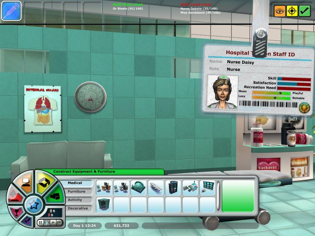 Hospital Tycoon screenshot