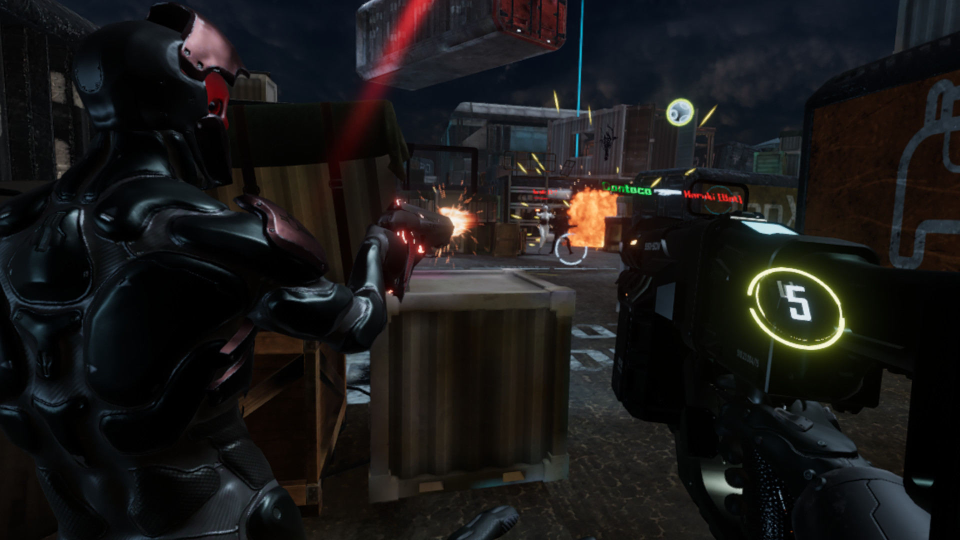 Iron Blood VR screenshot