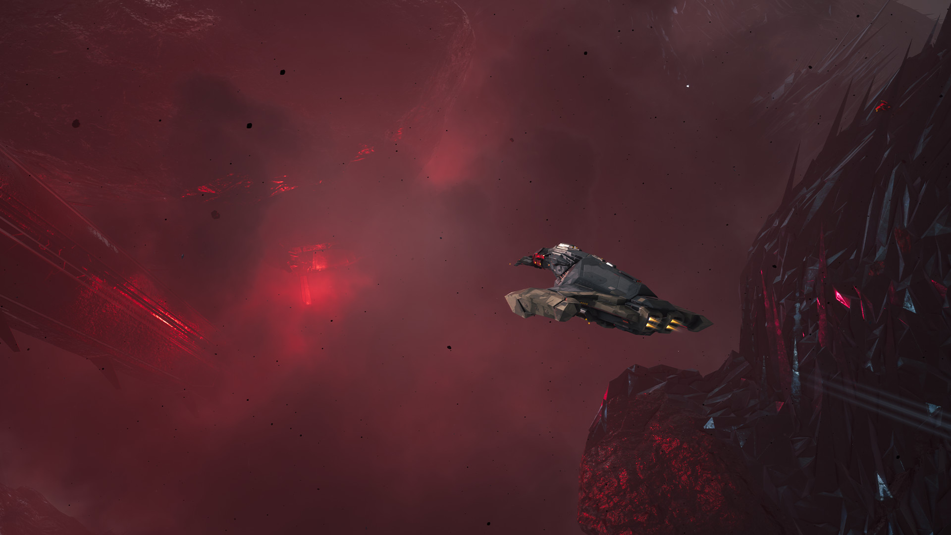 EVE Aether Wars - Tech Demo screenshot
