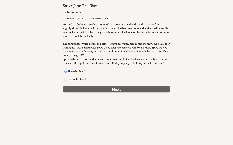 Street Jam: The Rise screenshot