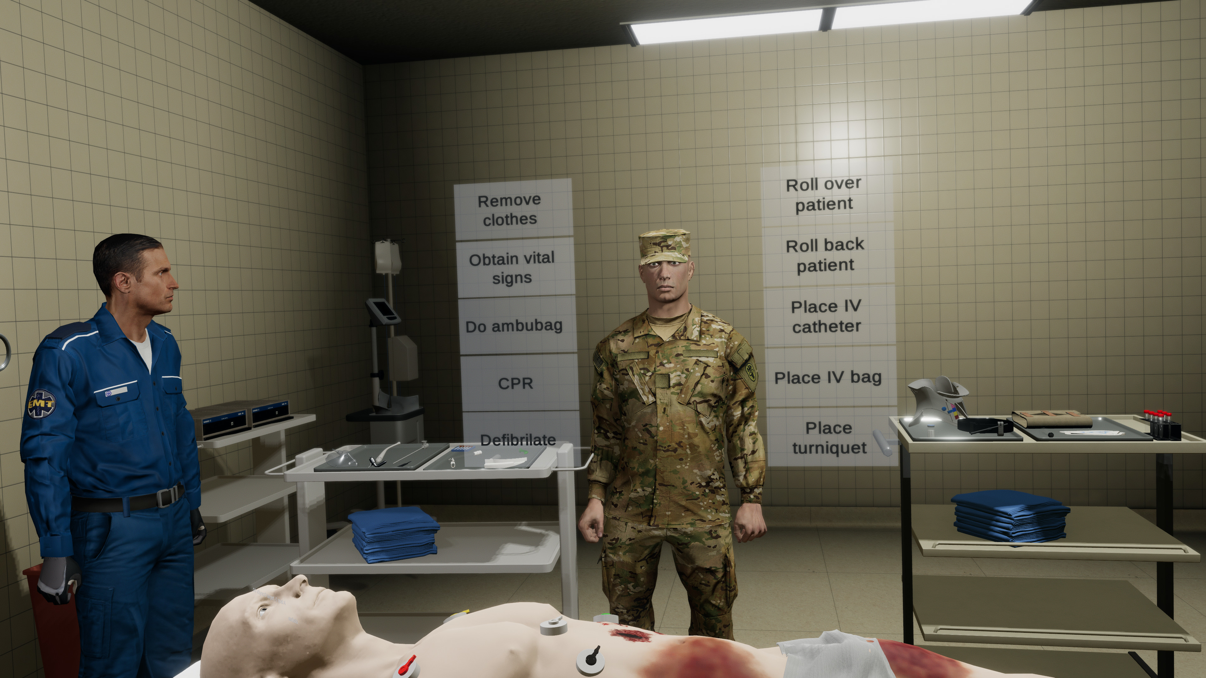Trauma Simulator - Emergency Room screenshot