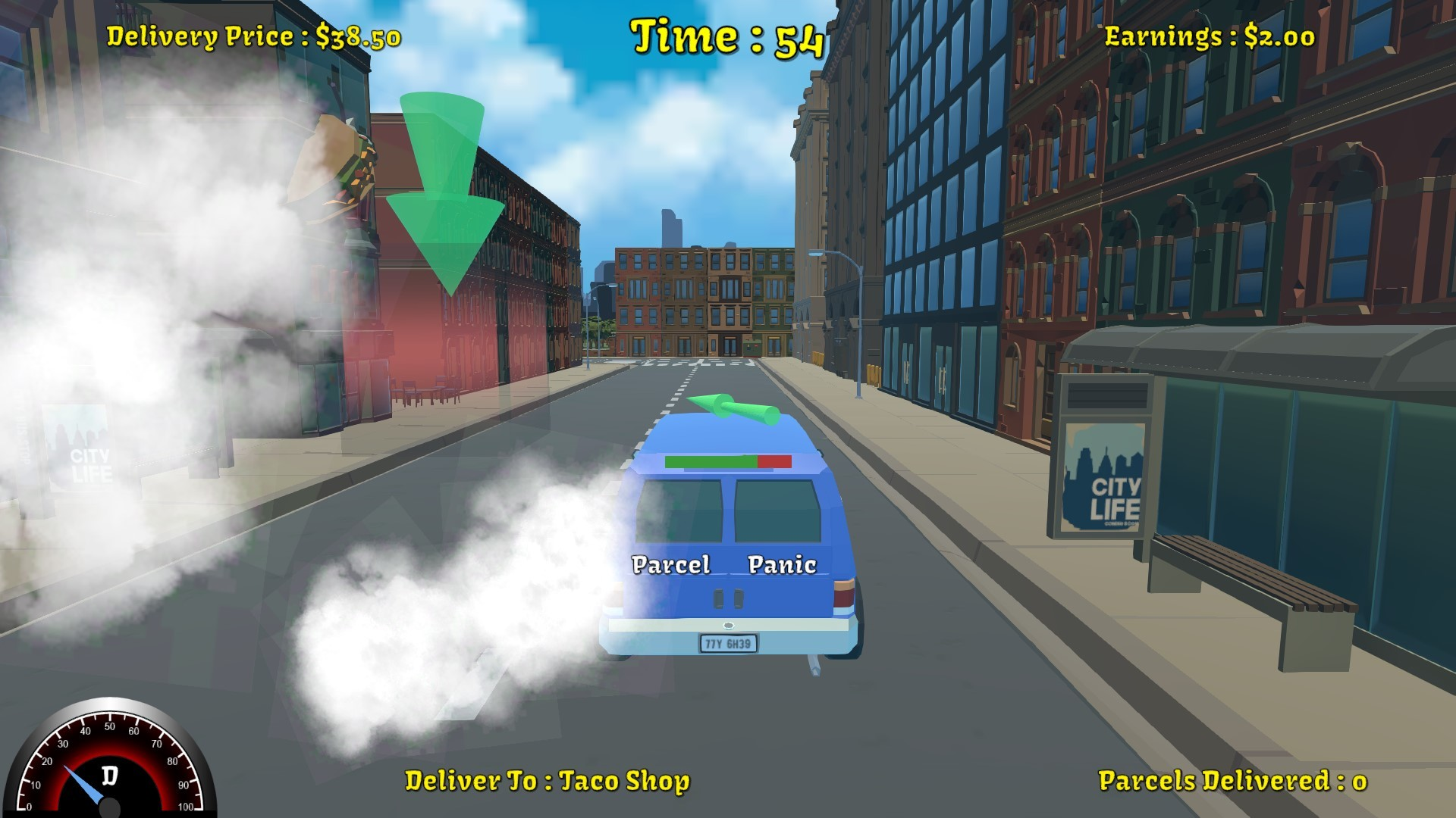 Parcel Panic screenshot