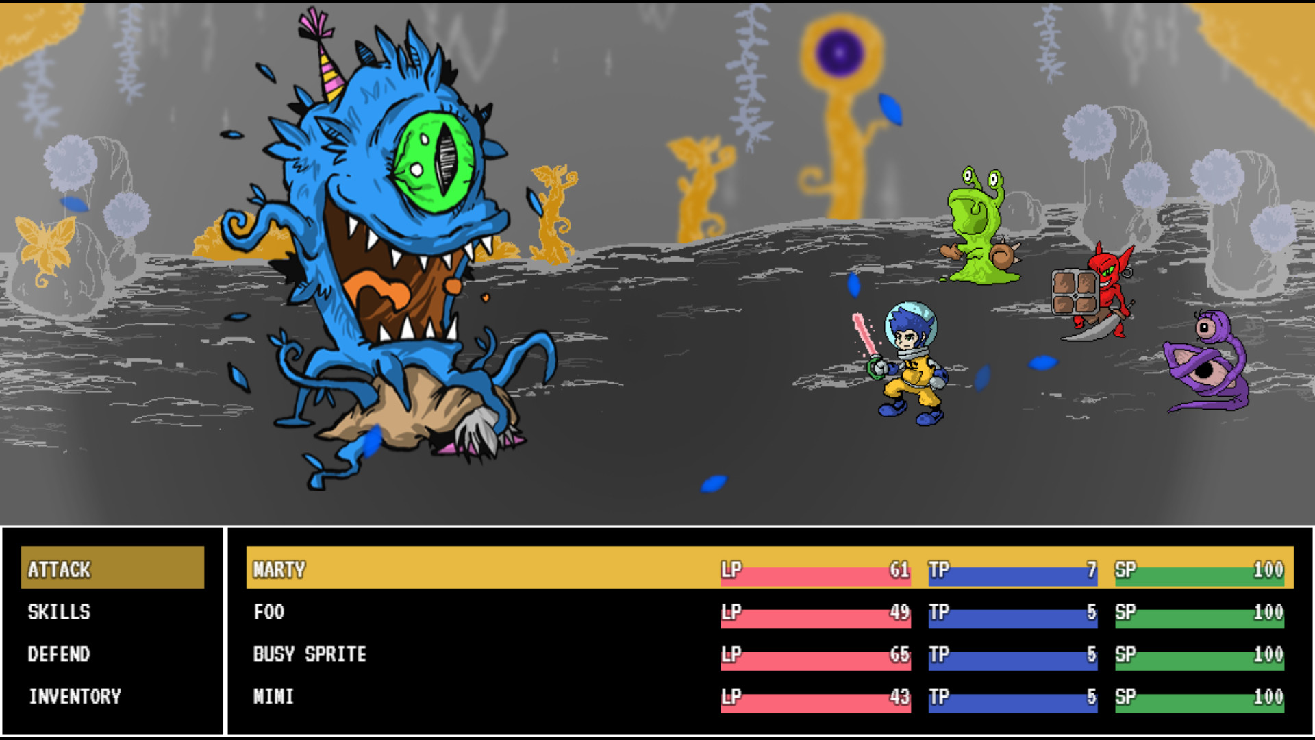 Monsters of Kanji 2 screenshot