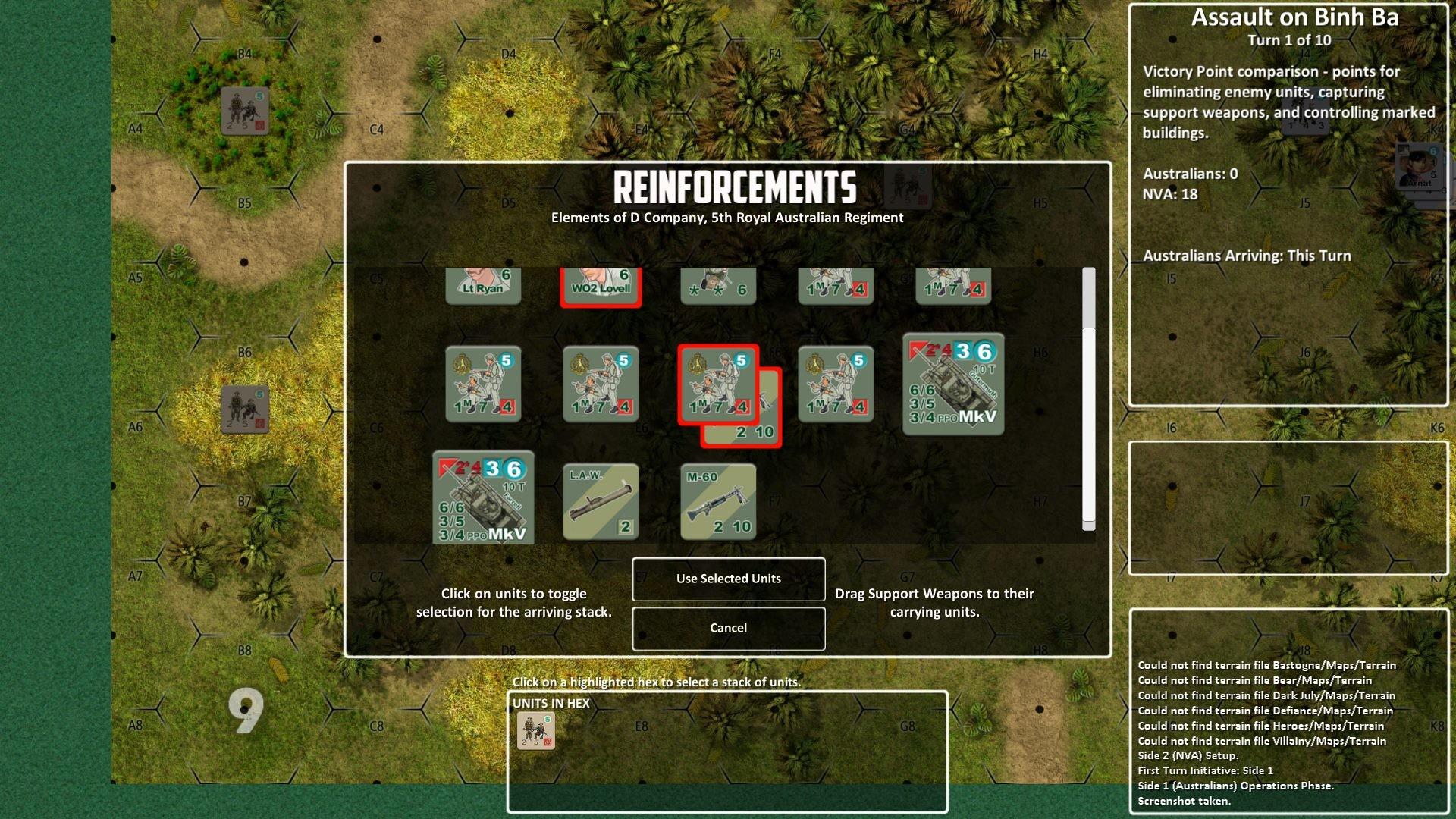 Lock 'n Load Tactical Digital: Heroes of Nam - Pack 1 screenshot