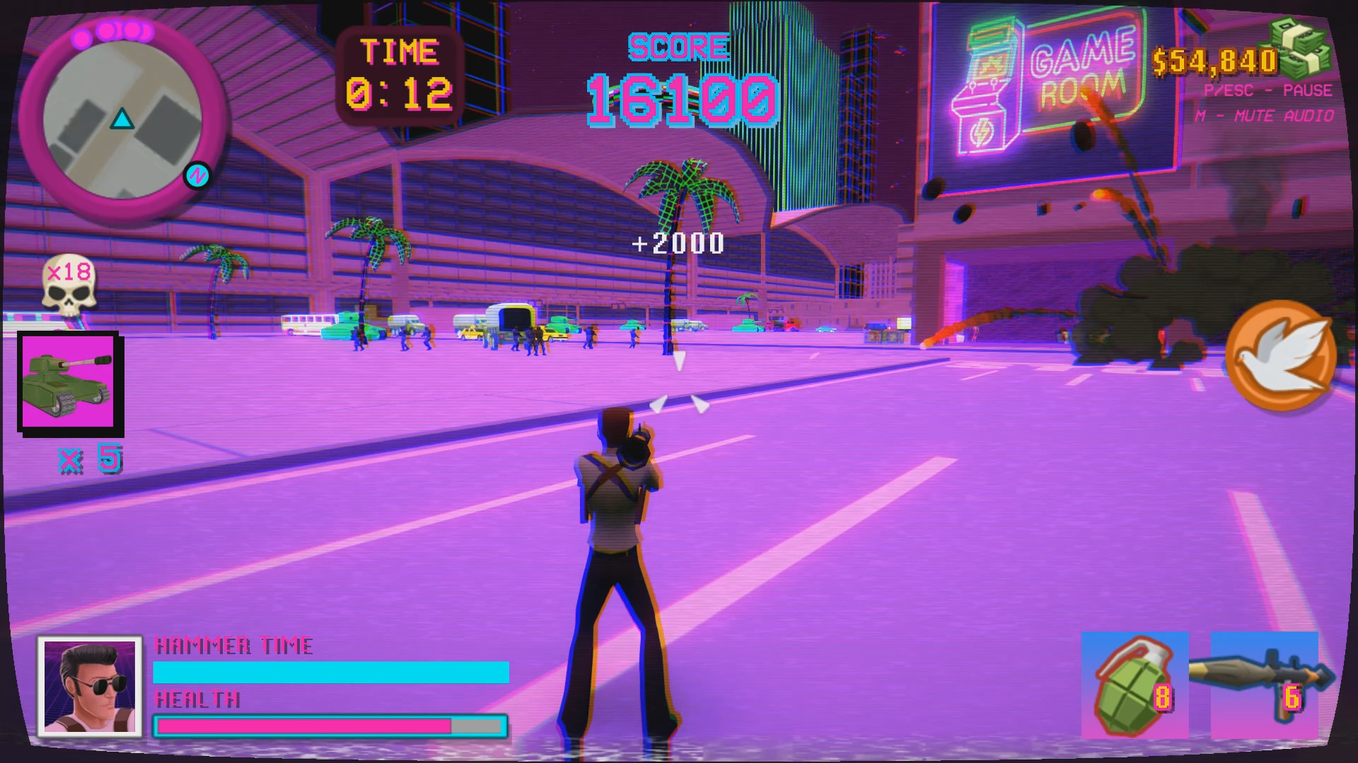 Rampage Miami screenshot